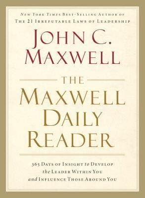 maxwell daily reader  days  insight  develop