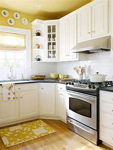 25 best ideas about yellow kitchen walls on pinterest With best brand of paint for kitchen cabinets with vintage wall art etsy