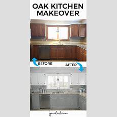 Our Oak Kitchen Makeover