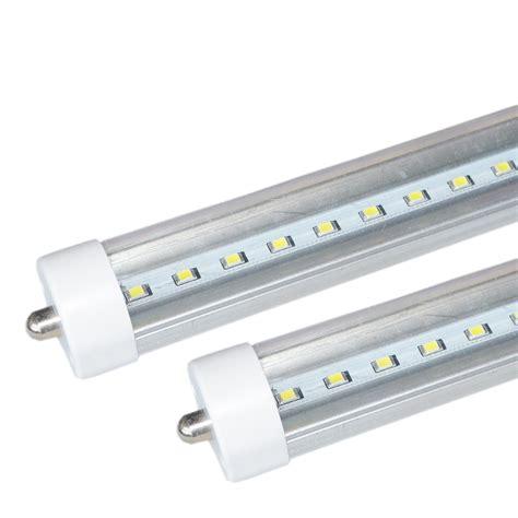 1 25pack fa8 8ft led light l warm cold single pin