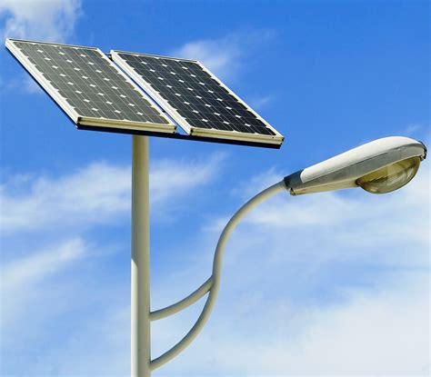 solar street l post installation of solarstreet light at sai eq int 39 l magazine