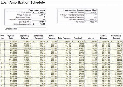 loan repayment template excel excel templates excel