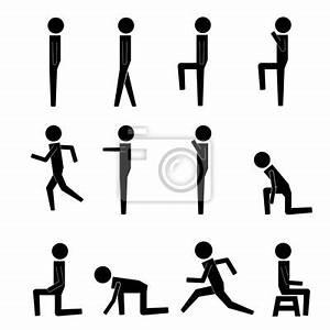 Papier Peint Action : laction humaine pose des postures figure pictogramme ~ Melissatoandfro.com Idées de Décoration