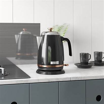 Kettle Electric Steel Stainless Salcombe Toaster Copper