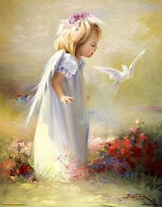Baby Angel IV Fine Art Print By Joyce Birkenstock At