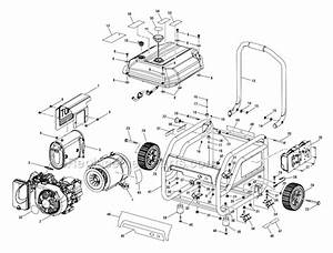 Homelite Ps903500a Parts List And Diagram