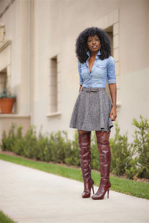 Style Pantry | over the knee boots
