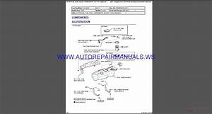 Toyota Tundra Factory 2015 With Bookmarks Service Repair Manual