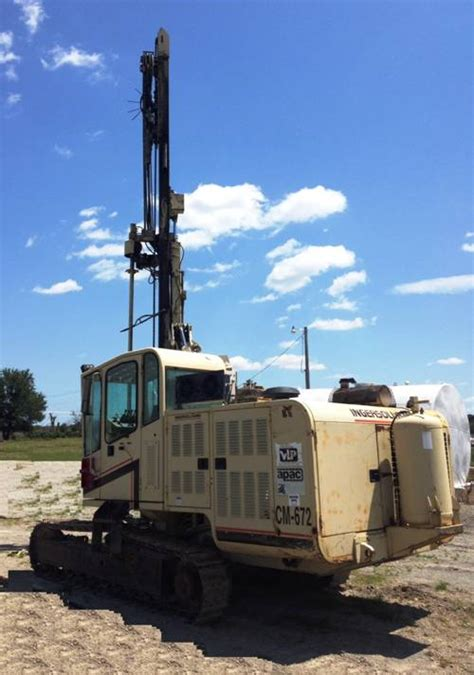 ingersoll rand drill rigs 1999 ingersoll rand ecm 672 drill rig venture drilling supply
