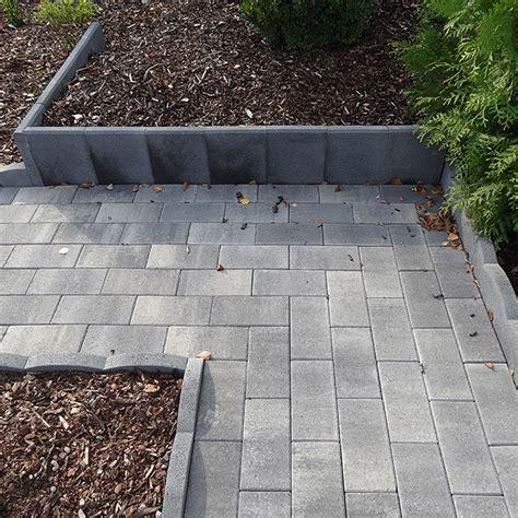 l steine oder betonmauer l stein mini anthrazit 25 x 20 x 35 cm bauhaus