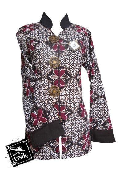 batik sarimbit azkana sogan baju batik sarimbit motif batik sogan sarimbit blus