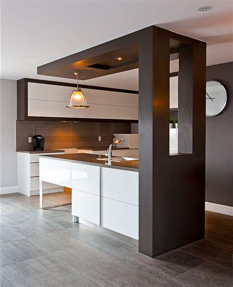 plafond de cuisine design cuisine moderne griffe cuisine