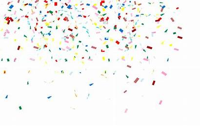 Confetti Transparent Ceria Clipart Clip Pngimg