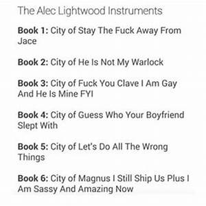 Alec Lightwood And Magnus Bane Quotes | The Mortal ...
