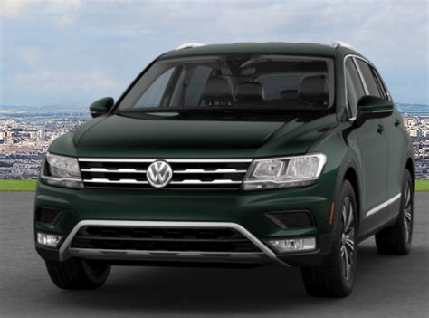 What are the Color Options for the 2018 Volkswagen Tiguan?
