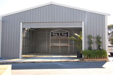 garages and sheds garages and buildings steel interlock sheds