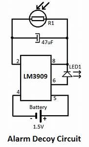 fake car alarm circuit With car horn circuit