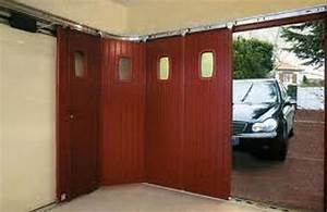 porte de garage coulissante motorisee lapeyre isolation With porte de garage coulissante avec porte de service pvc brico depot