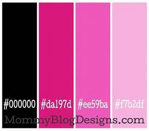 Image Gallery neon pink color code