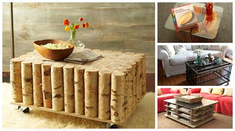 creative diy coffee  side tables