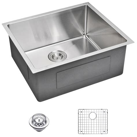 stainless undermount kitchen sink water creation undermount small radius stainless steel 5738