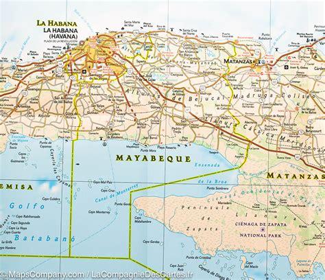Carte Du Monde Cuba by Cuba Carte G 233 Ographique Arts Et Voyages
