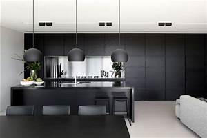 L Küche Modern : schwarze k che design ideen f r stilvolles zuhause ~ Markanthonyermac.com Haus und Dekorationen