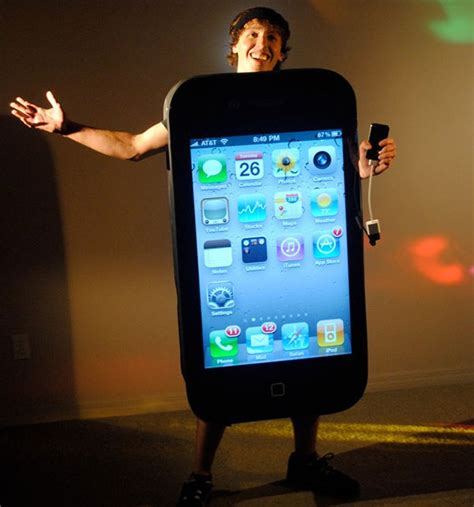 iphone costume iphone 4 costume this changes again not