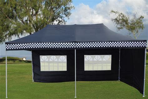 black checker pop  tent canopy gazebo