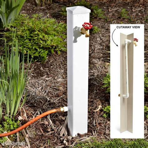 Decorative Hose Bib Cover by Best 25 Fence Post Crafts Ideas On Fence