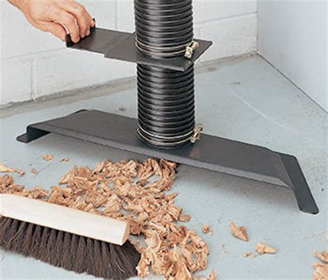 Dust Collector Floor Sweep by Dust Collection System