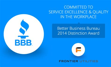 customer bureau frontier utilities york gt about us gt community