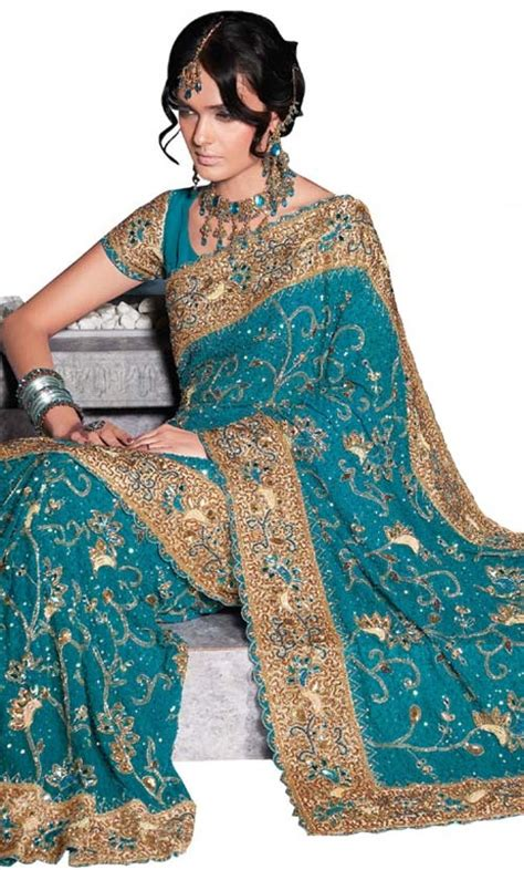 And Gold Sari a teal and gold sari teal and gold