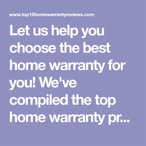 Home appliance insurance is different than most insurance in that it protects certain items from routine wear and tear. Let us help you choose the best home warranty for you! We've compiled the top home warranty ...