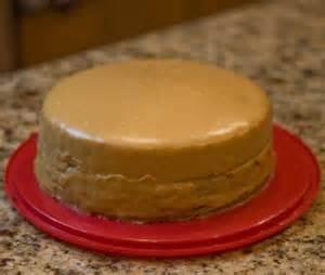 Cake with Caramel Icing Recipe