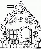 Coloring Pages Printable Houses Cardboard sketch template