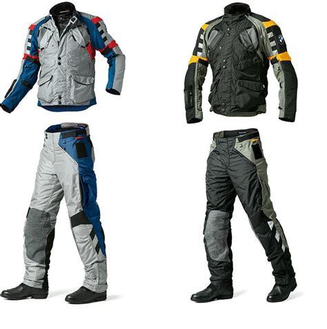 motorcycle riding accessories bmw rallye 3 jacket trousers pretty bike
