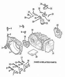 Where Is The Transmission Filter 2002 Mitsubishi Gallant Auto