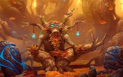 Warcraft Background Druid Wow Guild Raiding Pc