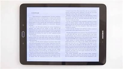 Tablet Reading Ebook Tab Galaxy S2 Books