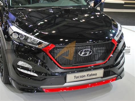 grill  hyundai tucson ix  avb sports car