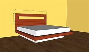 King Bed Frame Plans BED PLANS DIY & BLUEPRINTS