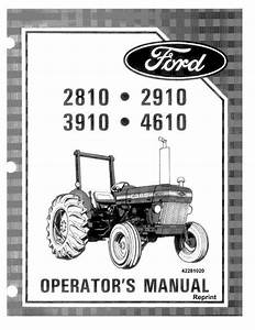 Ford 2810 Tractor Manual