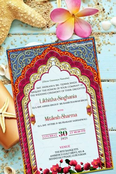 Pink and Blue Theme Traditional North Indian Wedding