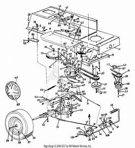 34 Mtd 38 Mower Deck Belt Diagram