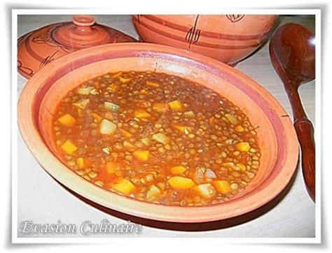 recette de cuisine sans viande soupe aux lentilles algérienne sans viande chorba aades plats algériens algerian food