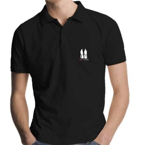 embroider polo shirt template embroidered logo black polo shirt clothing 2 cellos uk