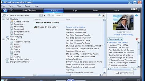 Ripping Music From Cd To Mp3 Player Using Windows Media