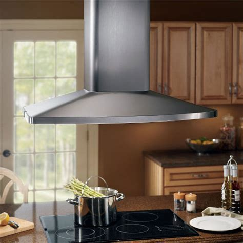 Range Hoods   Elite Island Mounted Range Hood With Multi