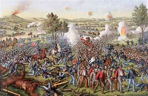 Batalla De Gettysburg  1863   U2013 Lhistoria